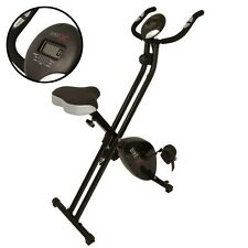 BIKE-X Magnetic Foldable Exercise Bike BLACK Fitness Weight Loss Machine