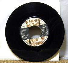 WINGS SILLY LOVE SONGS / COOK OF THE HOUSE 45 RPM RECORD