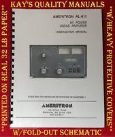High Quality Ameritron AL-811 Ham Radio linear Amplifier Instruction Manual