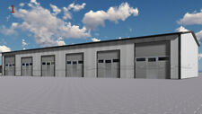 DELTACON Isolierte Stahlhalle/ Garagen 10 x 30 x 4/ 5 m  NEU!!