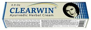 Clearwin Ayurvedic Cream Removes Acne Acne Spots Stretch Marks Scars Dark Circle