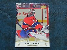 2018-19 18/19 Upper Deck UD SILVER FOIL #99 Carey Price Montreal Canadiens
