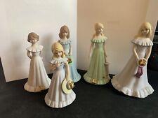 Vintage Enesco Growing Up Girls 12-16