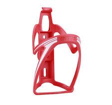 Portabidon BETO Porta Bidon Color Rojo Fibra de Bicicleta MTB y Carretera 3863rj