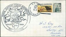 Cover 1979 USA ANTARTICA NAVAL SUPPORT FORCE to SURREY, BC.