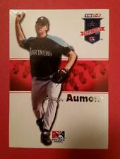 PHILLIPPE AUMONT * ROOKIE #61 SEATTLE MARINERS PHILLIES 2008 TRISTAR PROJECTIONS