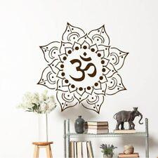 Mandala Wall Sticker Mehndi Yoga Studio Art Bohemian Home Décor Living Bed Room