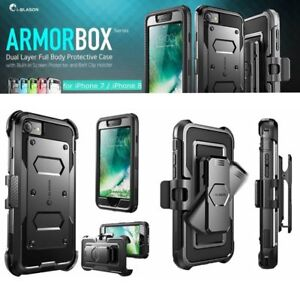 For iPhone SE 2020 Case / iPhone 7/8 i-Blason Full Body Shockproof Cover +Screen
