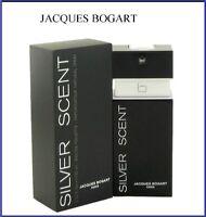 Jacques Bogart Silver Scent 3.4oz 100ml For Men Eau de Toilette Authentic Perfum
