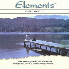 Elements: Quiet Moods by Various Artists (2 Discs: CD+DVD) New in Shrink Wrap!