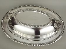 Wilcox IS Brandon Hall Silverplate Covered Vegetable Casserole Dish