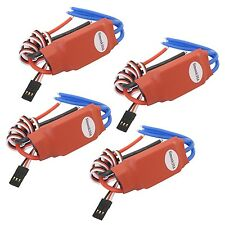 4x Simonk 30A Brushless Speed Controller ESC for Helicopter Airplane Multirotor