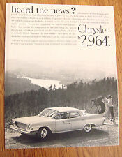1961 Chrysler Newport Ad - $2,964  Heard the News?