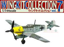 F-Toys Wing Kit 7 #3B WW2 Messerschmitt Bf109 E-4 Deutsch Fighter Flugzeug 1:144