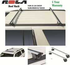 ROLA CUSTOM FIT ALUMINUM ROOF RACK 15-16 CHEVY SUBURBAN & TAHOE 5 YEAR WARRANTY