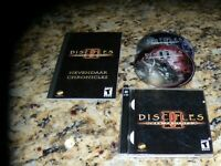 Disciples II Dark Prophecy (PC, 2002) Near mint game with manual