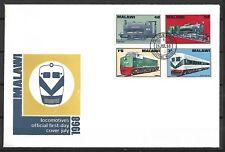 Malawi - FDC w/ 1968 Train Issue - VF !!!!!   (A1690)