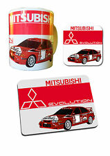 Mitsubishi Evo Collection - Mug, Coaster & Mouse Mat