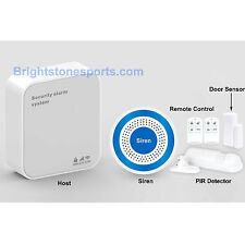 Wireless GSM WIFI Home Security Alarm System, Mobile APP, Infrared Detector