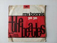 "The Beatles With Tony Sheridan My Bonnie  Ya Ya 7"" ITALY VG+ VG"