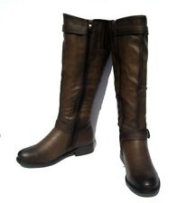 New Women's Fashion Boots  Brown Shoes Winter Snow Fur Lined Ladies size 11
