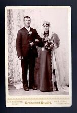 ANTIQUE CABINET WEDDING PHOTO TACOMA WA BARROWS Crescent Studio Flowers Dress US