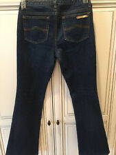 WOMEN'S MICHAEL KORS FLARE DENIM JEANS, SIZE 2, PERFECT CONDITION SEE PICS