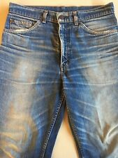 Vintage Levis Zipper Up Red Tab Straight Leg Size 32 100% Cotton