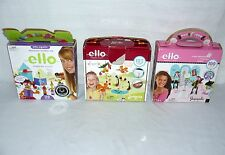 LOT SET OF 3 ELLO CREATION SYSTEMS BUILDING TOYS
