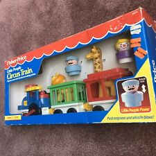 1991 Fisher Price Little People Circus Train Complete Sealed