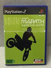 JEU PS2 JEREMY MC GRATH SUPERCROSS WORLD AVEC NOTICE PLAYSTATION