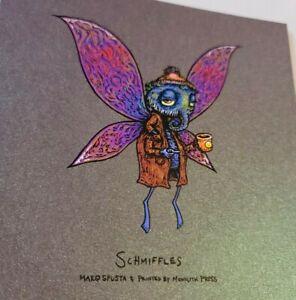 Marq Spusta Schmiffles on Grape Goo Print Mini