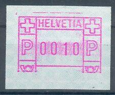 Schweiz,Lot 3 Automatenmarken mit Abarten, postfrisch,mit 2Vorläufer pracht