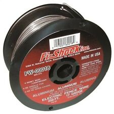 Fi-Shock FW-00018D Electric Fence Wire, 17 Ga Wire, 250 Ft L, Aluminum