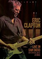 ERIC CLAPTON - LIVE IN SAN DIEGO WITH SPECIAL GUEST JJ CALE  DVD NEU