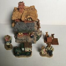 Boyds Bearly Built Villages Ted E Bear Shop Boyds Town Style & Accessories 1Ed.