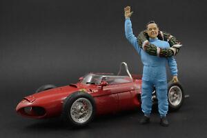 Phil Hill Figure for 1:18 Ferrari 156 CMC  !! NO CAR !!