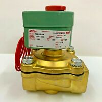 ASCO R8210B054 2-Way NC 1 in.  Brass General Purpose Solenoid Valve 120/60 AC