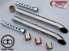 Universal tubos de escape para Clásico Bsa, Triumph custom las motocicletas 1,3 / 4 Pares