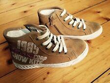 Geox J Tacos B Suede Halbschuhe Sneaker Leder Winterschuhe Stiefel Gr. 33 NEU