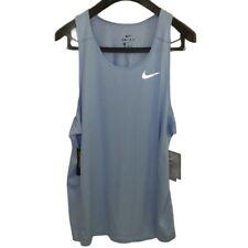 Nwt New Nike Dri-Fit Active Tank Mens Blue Size Xl