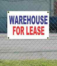 2x3 WAREHOUSE FOR LEASE Red White & Blue Banner Sign NEW Discount Size & Price
