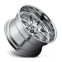 17x7 Us Mag Rambler U110 5x4.5 ET1 Chrome Wheels (Set)