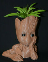 BABY GROOT Flower Succulent Pot Head  Planter Figure 3D Printed USA