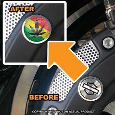 Brembo Front Brake Caliper Insert Set For Harley - POT LEAF FLAG - 147