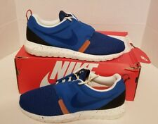 NIKE ROSHE RUN NM BR MEN'S SZ 9 NEW  MILITARY BLUE NAVY SAIL ROSHERUN 644425-400