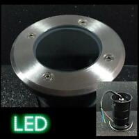 Bodeneinbauleuchte Bodeneinbaustrahler B6-r klar LED massiv langlebig robust