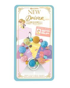 NEW JILZARAH Premium Handmade Clay Beads NEW DRIVER 20mm Wrist Keychain