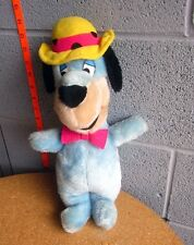 HUCKLEBERRY HOUND vtg plush doll Yogi Bear cartoon toy 1980 Hanna-Barbera