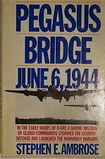 WW2 Pegasus Bridge June 6 1944 D-Day Mission Glider Commandos Reference Book
